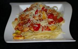 Kylling&spaghetti