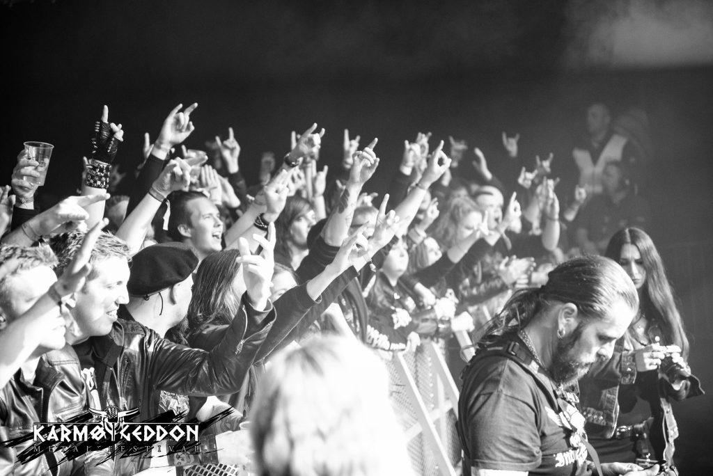 Fantastisk stemning på Helloween Foto: Jørgen Freim