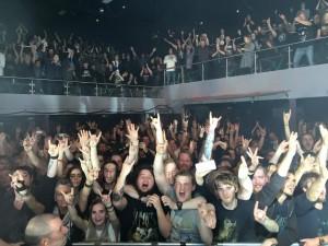 Haugesundsfansen på In Flames Foto: In Flames facebookside